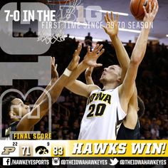 "1/24/16: 7-0 Iowa Basketball on Twitter: ""https://t.co/xhLCCdlqF4"""
