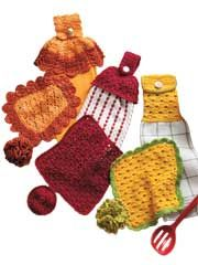 Towel Toppers, Dishcloths & Scrubbies