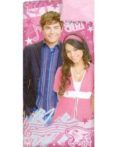High School Musical Sleeping Bag - Disney HSM Slumber Bag $25.00 (58% OFF) + Free Shipping