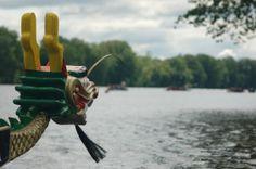 Bateau Dragon sur la rivière St-Maurice