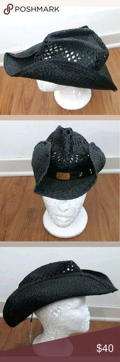 17f0c769f0411 NWT Black Harley-Davidson® Women s Cowboy Hat NWT WSHD 97755-16VW Black  Harley