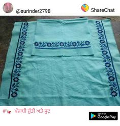 Embroidery Suits Punjabi, Embroidery Suits Design, Embroidery Fashion, Embroidery Dress, Embroidered Blouse, Machine Embroidery, Embroidery Designs, Designer Punjabi Suits Patiala, Punjabi Suits Designer Boutique