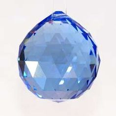 Very nice vintage blue Feng Shui crystal. Similar to the pink Feng Shui crystal we have, but this one comes in an icy blue. Feng Shui House, Feng Shui Bedroom, Crystal Sphere, Crystal Ball, Crystal Garden, Feng Shui Crystals, Healing Crystals, Feng Shui Design, Chi Energy