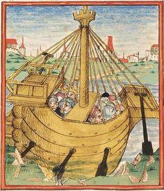 Pontus und Sidonia — Stuttgart (?) - Werkstatt Ludwig Henfflin, um 1475 Cod. Pal. germ. 142 Folio 1v