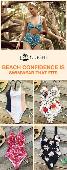 Inspire your confidence and beauty through these redefined and affordable swimsuits. Do have a beach trip this spring and leave yourself a hot memory~ Don't let go easily of every chance to meet the sparkling you!