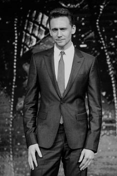 Tom Hiddleston. How does he become even more attractive in a suit? I didn't think it was possible.