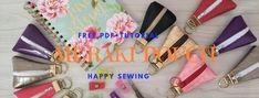 Zipper Bags, Zipper Pouch, Diy Ribbon Flowers, Pouch Pattern, Meraki, Felt Diy, Pouches, Bag Making, Sewing Ideas