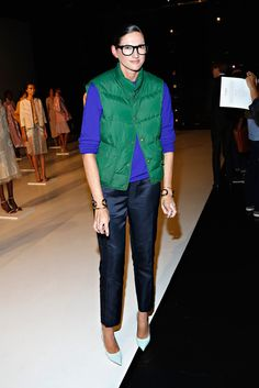 Jenna Lyons attends the Tome presentation during Spring 2014 Mercedes-Benz Fashion Week