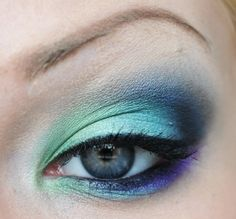 Bring out the green in your blue eyes