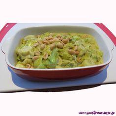 Lauchgemüse in Kokosmilch Lauchgemüse lecker mit Kokosmilch und Curry vegan zubereiten vegetarisch vegan laktosefrei glutenfrei