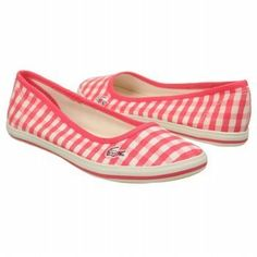 LACOSTE Womens Marthe 6 (Pink Gingham 6.0 M) Lacoste, http://www.amazon.com/dp/B008HSY74M/ref=cm_sw_r_pi_dp_qN2qrb1NT7WV4