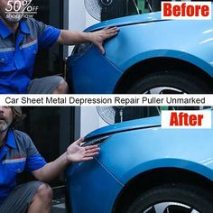 Load image into Gallery viewer, Car Sheet Metal Depression Repair Puller Unmarked Suction Cup Convex Pull Hammer Car Dent Removal Bar- Does Not Ruin Paint Car Cleaning Hacks, Car Hacks, Deep Cleaning, Car Gadgets, Gadgets And Gizmos, Remove Dents From Car, Hammer Car, Car Care Tips, Garage Tools