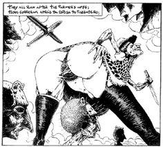 comic art by Lourenço Mutarelli