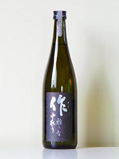 Amazon.co.jp: 作(ざく) 雅乃智(みやびのとも) 純米大吟醸 中取り 三重県産 720ml: 食品・飲料・お酒 通販