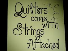 Quilters come with strings attached.....I need this sign!