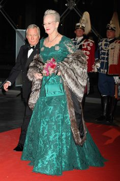 Queen Margrethe II Photo - Queen Margrethe II of Denmark Celebrates 40 Years on The Throne - Gala Performance