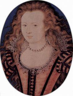 Princess Elizabeth Stuart, daughter of James I, granddaughter of Mary, Queen of Scots