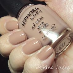 Sephora by OPI: Leotard-Optional — the perfect nude polish!