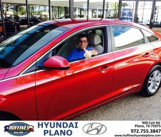 https://flic.kr/p/LHQYVo | Happy Anniversary to Edward on your #Hyundai #Sonata from Brent Pesola at Huffines Hyundai Plano! | deliverymaxx.com/DealerReviews.aspx?DealerCode=H057