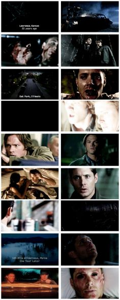 SPOILERS [gifest] Supernatural Season 1 to 9 - Beginnings and ends.
