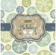 Holiday Frame royalty-free stock vector art