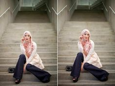 Yaz the Spaz in Haute Hijab - Enter the Giveaway to Win these HH Pieces!