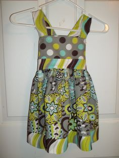 Little girls dress Sz 4, so much fun to make