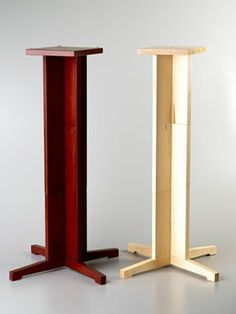"""adjusted, allowing speaker heights of 10"""", 20"""" and 30"""". Due to the unique slotted, sectional design higher versions can be easily made using..."""