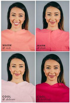 Meet Sakura Considine of the Bloguettes, also a Warm & Rich, Deep Autumn. Follow along through the color draping to uncover your own coloring. Each drape represents a season: Warm & Rich …