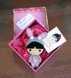EL FIELTRO EN MIS MANOS: Una linda muñeca llamada Miyu