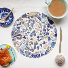 Meet the maker using beach pottery to create found object jewellery and art #meetthemaker