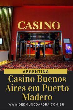 O que fazer em Buenos Aires - Casino Buenos Aires - Argentina