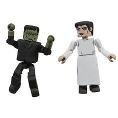 Minimates Frankensteins Monster & Dr. Henry Frankenstein @ niftywarehouse.com #NiftyWarehouse #Frankenstein #Halloween #Horror #HorrorMovies #ClassicHorror #Movies