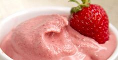 Quick Strawberry Ice Cream ---> http://www.blendtec.com/recipes/quick_strawberry_ice_cream