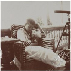 Alexei Nikolaevich Romanov - Tsarevich Alexei liked kitties. Anastasia, Belle Epoque, Tsar Nicolas, Familia Romanov, Grand Duchess Olga, House Of Romanov, Family Research, Imperial Russia, Beautiful Family