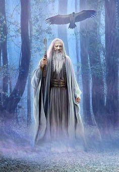 Druid and Celtic Queens - Goddesses...Merlin