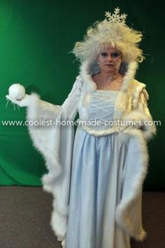 Coolest Snow Queen Costume 12: I got the Snow Queen Costume idea from the movie Chronicles of Narnia.  I didn't go for looking like the Queen in the movie. I  came up with an idea of