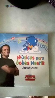 Cd André Sardet - Musicas para bebés - NOVO -Portes Grátis Vendo Cd- Músicas para bebés Nestlé - André Sardet Músicas do cd: 1- Eu quero ser um Bebé Nestlé 2- Dorme, dorme meu bebé 3- A prim...