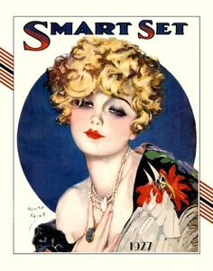 Smart Set Magazine cover by Henry Clive c.1927