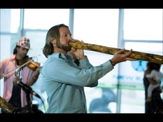 Jesse Hanson Plays the Didgeridoo from Helix Healthcare Group
