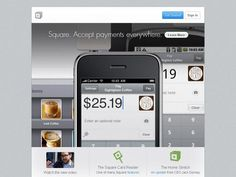 Square  Square apre un intero nuovo mondo per effettuare ed acquisire pagamenti in un istante, live! Stay in touch...