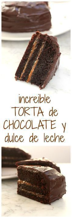 TORTA CHOCOLATE Y DDL