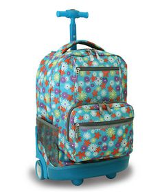 Love this Spring Sunset Wheeled Backpack on #zulily! #zulilyfinds
