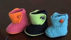 Resultado de imagen para zapatitos de bebe al crochet