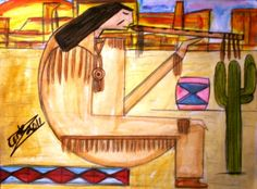 Wind Flute by ArtbyCortez on Etsy, $95.00