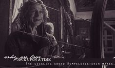 The giggling sound Rumpelstiltskin makes.