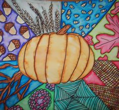 art sub lesson for halloween Halloween Art Projects, Halloween Arts And Crafts, Fall Art Projects, Classroom Art Projects, School Art Projects, Art Classroom, Art Sub Lessons, Art Education Lessons, Art Lessons Elementary