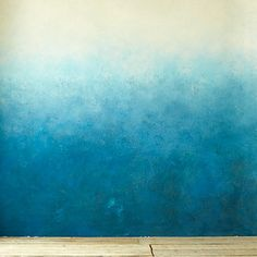 Reward yourself with an ombre wall. | 10 Design Tips To Spruce Up Your New Apartment