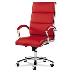 Latitude Run Oliver High-Back Slim Profile Leather Executive Chair $251.95