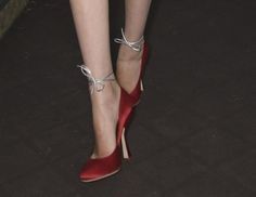 """rawkiss: """" honey-tone: """" in need of these miu miu ss 2008 """" i would have a fucking blast w these oh woowowow """""""